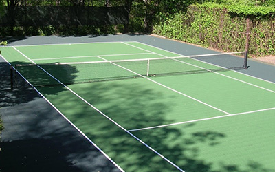 Onelawn Tennis Court Construction Installation