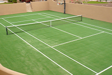 Onelawn Synthetic Turf Tennis Courts Bocce Courts Batting Cage Turf