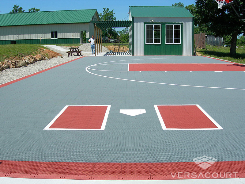 Onelawn Backyard Multi Game Court Installations