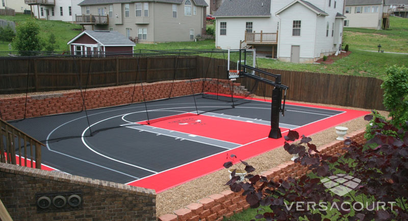 Ordinaire Onelawn | Backyard Multi Game Court Installations
